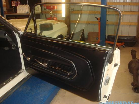 & 1967 Deluxe Door Panel upgrage has defeated me. - Vintage Mustang Forums